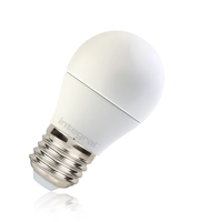 Integral Warmtone Golf Ball E27 470LM 6W 1800-2700K Dimmable 220 Beam Frosted