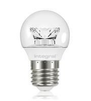 Integral Golf Ball E27 250LM 3.4W 2700K Non-dimm 240 Beam Clear