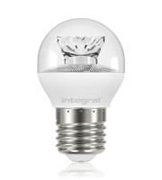 Integral Golf Ball E27 470LM 5.4W 2700K Non-dimm 240 Beam Clear