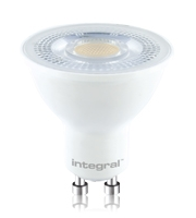 Integral GU10 PAR16 7W Dimmable LED Lamp (Warm White)