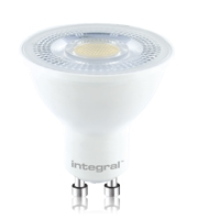 Integral GU10 PAR16 7W Dimmable LED Lamp (Cool White)