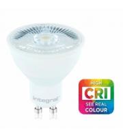 Integral GU10 PAR16 7W CRI95 Dimmable LED Lamp (Cool White)