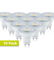 Integral GU10 PAR16 3.2W Non-Dimmable LED Lamp x 10 Pack (Warm White)