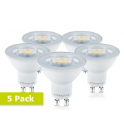 Integral GU10 PAR16 3.2W Non-Dimmable LED Lamp x 5 Pack (Warm White)