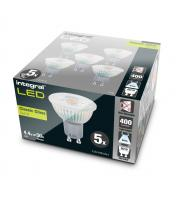 Integral 4.7W Glass GU10 LED Lamps x 5 Pack (Cool White)