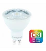 Integral GU10 PAR16 7W CRI95 Non-Dimmable LED Lamp (Cool White)