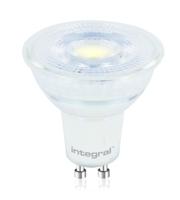 Integral Glass GU10 425LM 4.7W 4000K Non-dimm 36 Beam