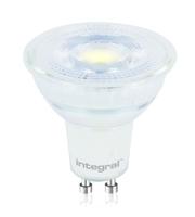 Integral Glass GU10 425LM 4.7W 6500K Non-dimm 36 Beam
