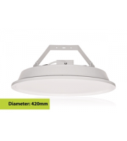 Integral Spacelux Circular High Bay 1PK IP65 16800LM 120W 5000K Dimmable