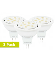 Integral MR16 6W Dimmable LED Lamp x 3 Pack (Cool White)
