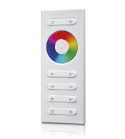 RF RGB Colour Changing Receiver Remote Control (White)