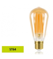 Integral Sunset Vintage ST64 5W E27 Dimmable LED Lamp (Warm White)