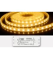 Integral IP67 5M Flexible Led Strip 12V Constant Voltage 3528SMD 3500K 325lm/M 6W/M 60LEDs/M 115° IP20 40W(12V) Driver Included