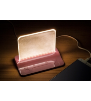 Integral Table Light Usb Powered Pink Dimmable (Warm White)