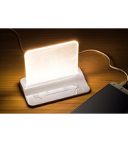 Integral Table Light Usb Powered White Dimmable