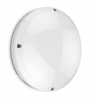 Kosnic LED 12w IP65 Blanca Integrated Bulkhead with Built-in Emergency Module UK