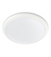 Kosnic Meola 25W Dimmable Ultra Slim LED Bulkhead with Sensor (White)