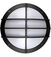 Kosnic Circular Cast Bulkhead Grille Option Black