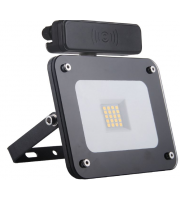 Kosnic 10w Slim Profile Sensor Flood Light 6500K Black