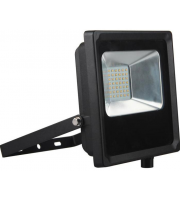 Kosnic 30w Flood Light 6500K Black ,Floodlight,LongLife