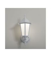 KSR Lighting Manta 7w 4000K LED PIR Polycarbonate Upward Lantern (White)
