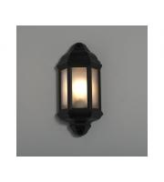 KSR Lighting Manta E27 Half Lantern (Black)