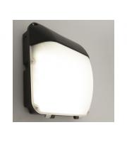 KSR Lighting Siena 30w 4000K LED Emergency Wall Pack (Black)