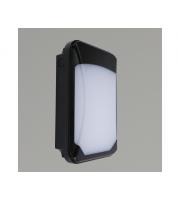 KSR Lighting Siena Slim 15w 3xCCT LED Wall Pack Black