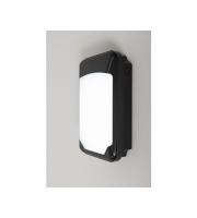 KSR Lighting Siena Slim 15w 3xCCT LED Emergency Wall Pack Black