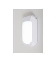 KSR Lighting Siena Slim 15w 3xCCT LED Emergency Wall Pack White