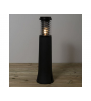 KSR Lighting Manta E27 750mm Polycarbonate Bollard (Black)