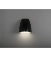 KSR Lighting Vicenza 25w 4000K LED Wall Pack (Black)
