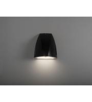 KSR Lighting Vicenza 25W 4000K LED Wall Pack Emergency (Black)