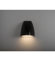 KSR Lighting Vicenza 25w 4000K LED Wall Pack Emergency c/wPhotocell BK (Black)