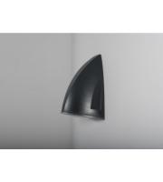 KSR Lighting Vicenza 25w 3CCT LED Wall Pack Emergency c/w Photocell Grey
