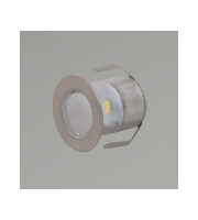 KSR Lighting Cabello 10 x 0.5W Warm (White) LED 10 Light Decking Kit (Steel)