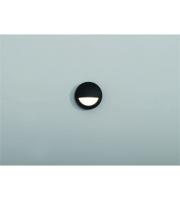 KSR Lighting Amapa LED Round Eyelid Surface Wall Light (Anthracite)