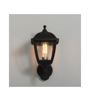 KSR Lighting Bastia E27 4 sided Lantern Black