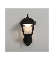 KSR Lighting Bastia 8w 3000K LED 4 sided Lantern Black