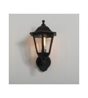 KSR Lighting Bastia E27 6 sided Lantern Black