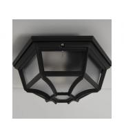 KSR Lighting Ottagono Wall/Ceiling Lantern (Black)