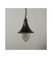 KSR Lighting Lampara E27 Hanging Lantern Antique Bronze