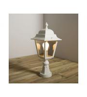 KSR Lighting Nizza E27 Pillar Lantern (White)