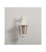 KSR Lighting Oslo E27 Downward Wall Lantern (White)