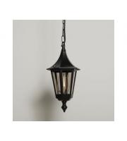KSR Lighting Oslo E27 Hanging Lantern (Black)