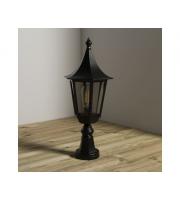 KSR Lighting Monaco E27 Pillar Lantern (Black)