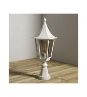 KSR Lighting Monaco E27 Pillar Lantern (White)