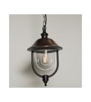 KSR Lighting Romantica E27 Hanging Lantern (Black)/Copper