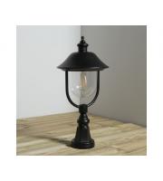 KSR Lighting Romantica E27 Pillar Lantern  (Black)