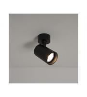 KSR Lighting Sofia GU10 Single Spotlight (Black)
